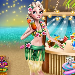 Princess Hawaiian Themed Party